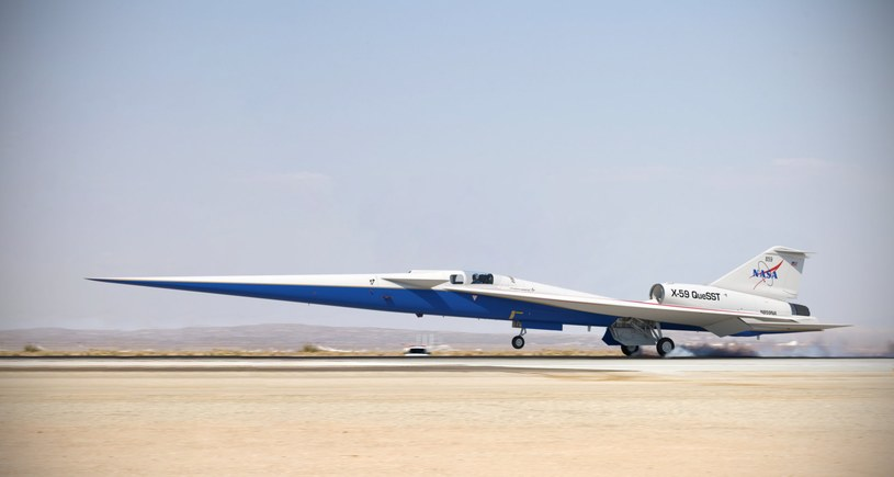 NASA X-59 /materiały prasowe