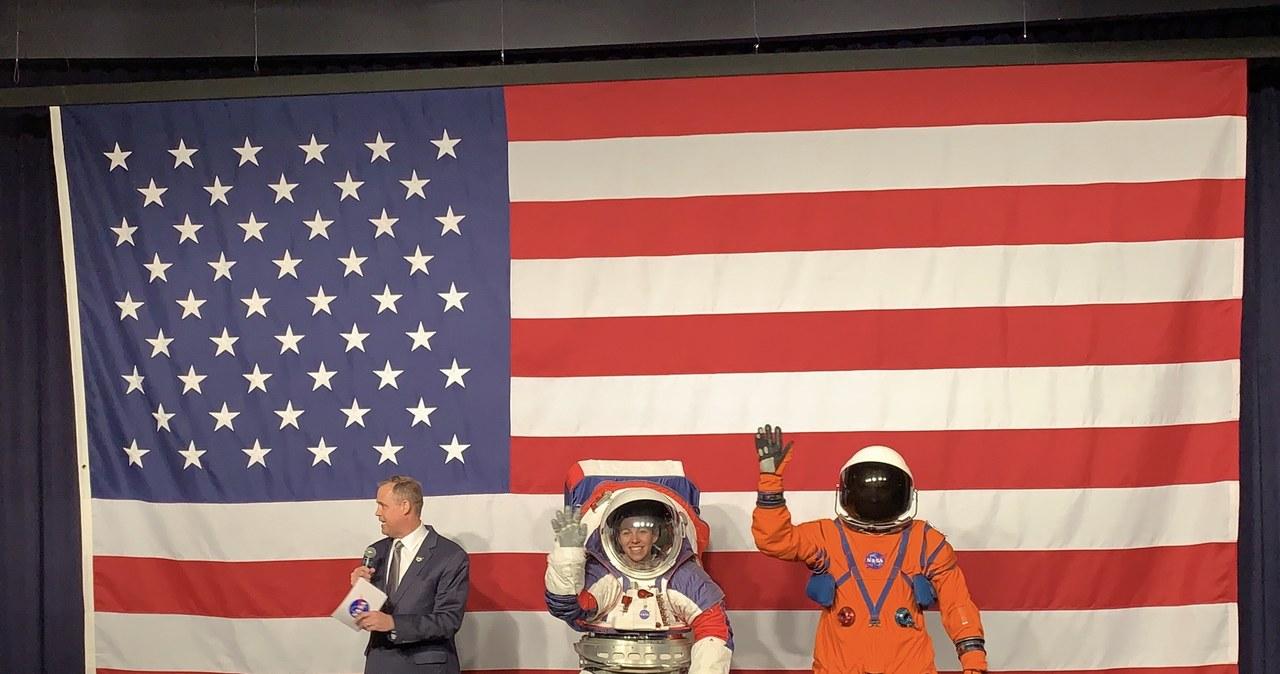 NASA zaprezentowała nowe skanfandry dla astronautów