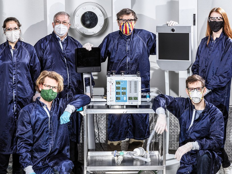 NASA zaprojektowała respirator VITAL /materiały prasowe