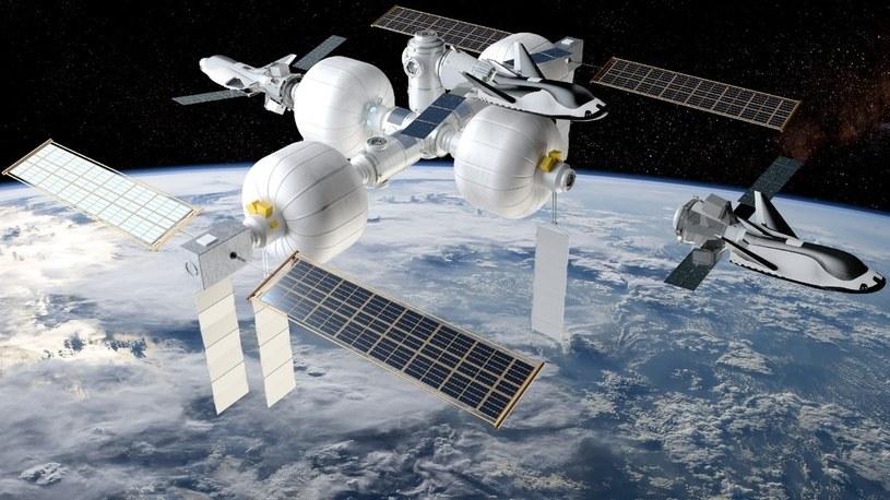 NASA zbuduje nową, luksusową stację kosmiczną. Tym razem dla miliarderów /Geekweek