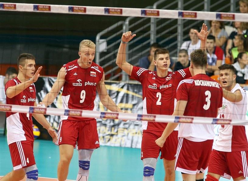 Nasi juniorzy cieszą się z awansu do półfinału ME /www.cev.eu