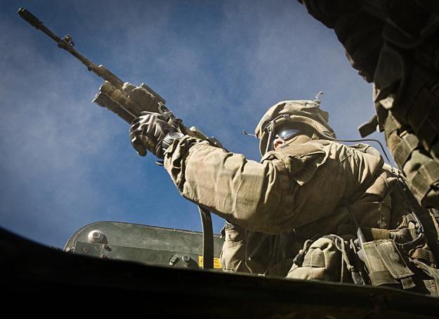 Nasi nie odpuszczają talibom /fot. Adam Roik/Combat Camera /