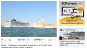 Nasilają się protesty przeciwko wielkim statkom w Wenecji