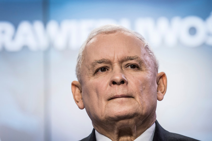 """""""Nastawiamy się na długi marsz i to on jest naszym celem"""" - zapowiada Jarosław Kaczyński /Jacek Dominski/REPORTER /East News"""