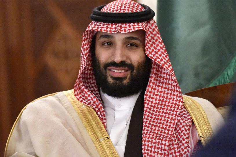 Następca saudyjskiego tronu książę Muhammad ibn Salman. /RYAD KRAMDI /AFP