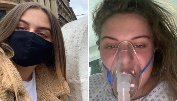 Nastolatka stała się celem ataków antyszczepionkowców /Maisy Evans /Twitter