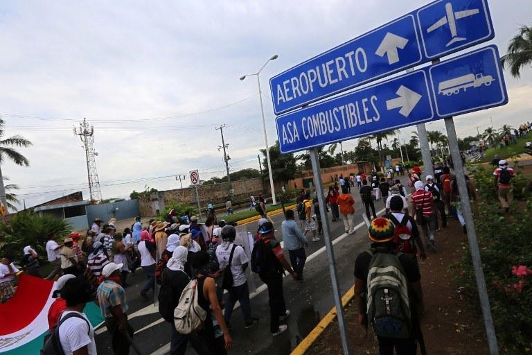 Nastroje w Meksyku są coraz bardziej napięte /AFP