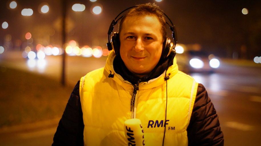 Nasz dziennikarz Krzysztof Kot /Michał Dukaczewski, RMF FM /RMF FM