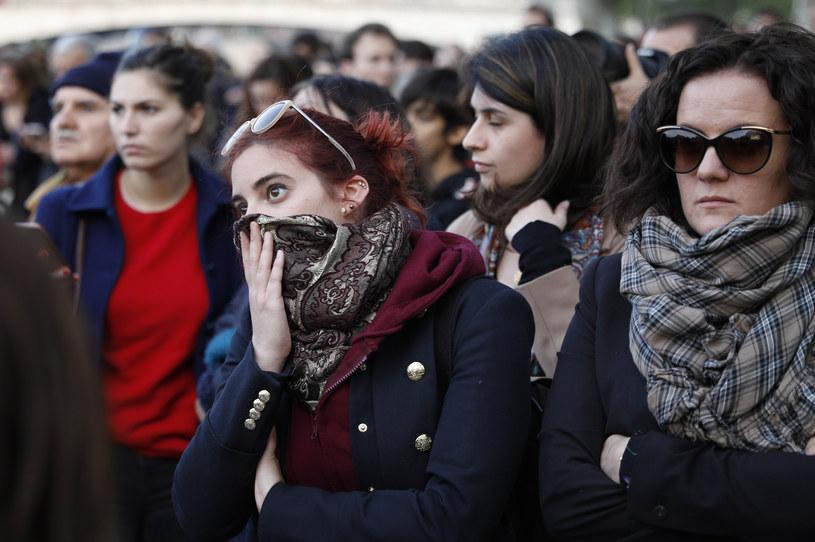 """""""Nasza historia idzie z dymem"""" /GEOFFROY VAN DER HASSELT /AFP"""