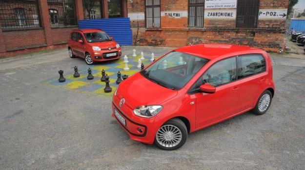 Nasza szachownica – Fiat Panda w starciu z Volkswagenem Up! Pierwszy kosztuje 37 400 zł, natomiast drugi to wydatek 37 750 zł. /Motor