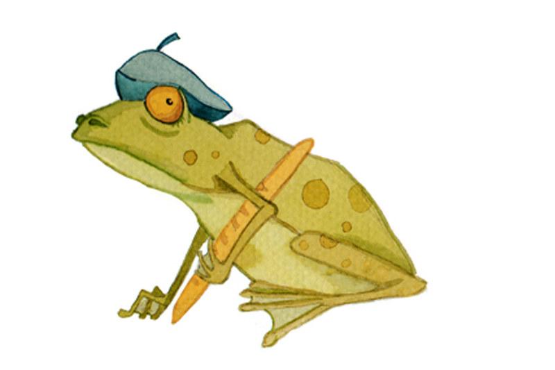 Nasze bajki: Francuska żaba /INTERIA.PL
