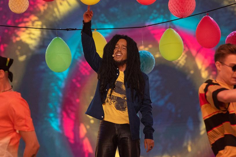 Natalia Avelon jako Bob Marley /M. Zawada /Polsat