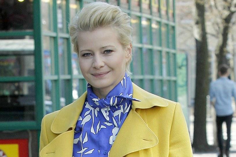Natalia Boska, czyli postać grana przez Kożuchowską, jest osobą bardzo dynamiczną. Zdjęcia trwają wiele godzin dziennie. Mogłyby okazać się zbyt obciążające dla przyszłej mamy. /Krzemiński Jordan /AKPA