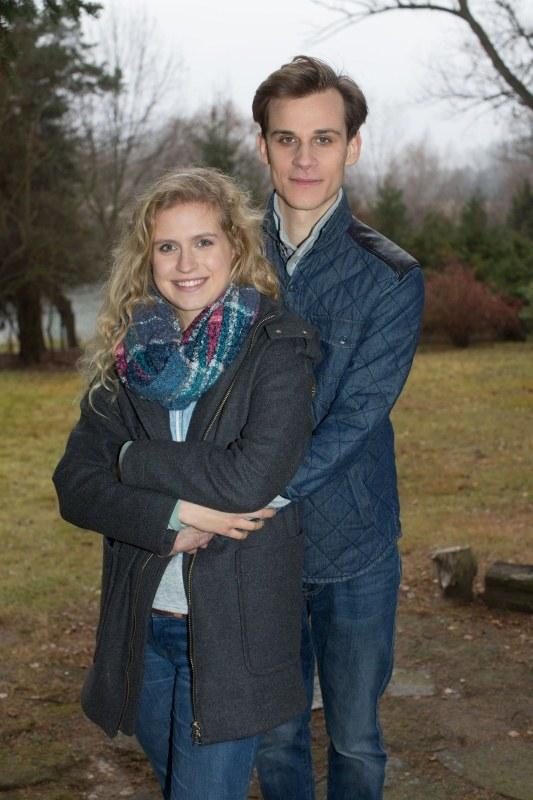 Natalia i Darek mają wkrótce zostać rodzicami. /Agencja W. Impact
