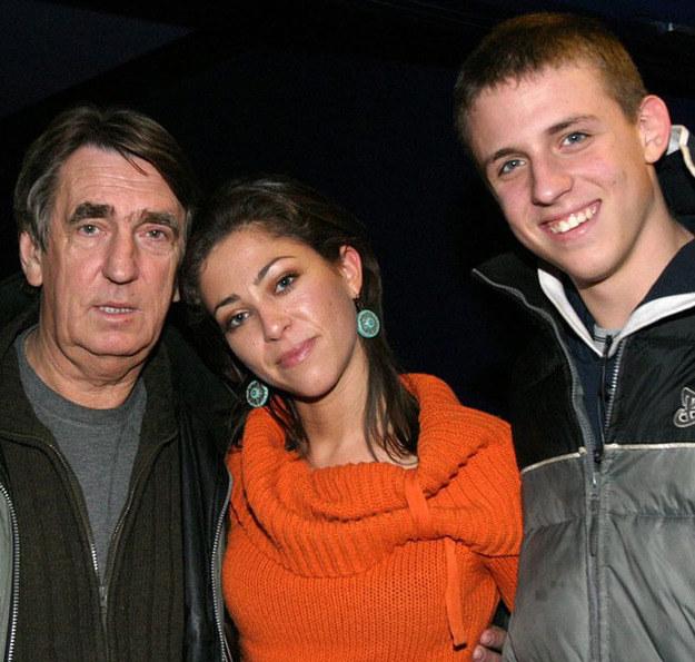 Natalia i Piotr z ojcem Jarosławem Kukulskim /Kacper Pempel /Reporter
