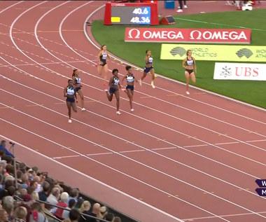 Natalia Kaczmarek szósta w biegu na 400 metrów (POLSAT SPORT) Wideo