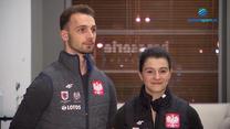 Natalia Kaliszek i Maksym Spodyriew. Polska para łyżwiarzy na igrzyska w Pekinie. WIDEO (Polsat Sport)