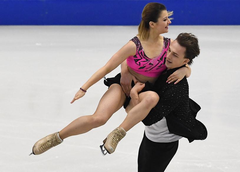 Natalia Kaliszek i Maksym Spodyriew /AFP