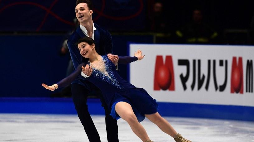 Natalia Kaliszek i Maksym Spodyriew /Newspix