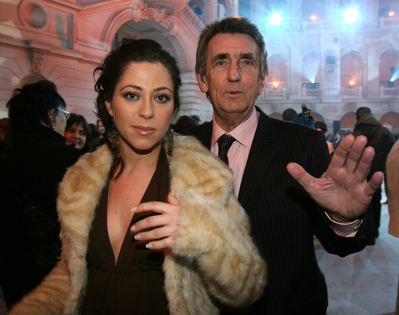 Natalia Kukulska i Jarosław Kukulski w 2005 r. /Piotr Fotek /Reporter