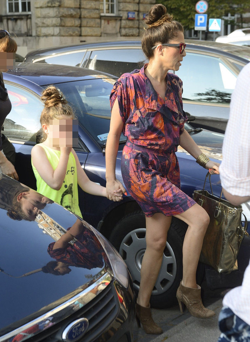 Natalia Kukulska z córką Anią /East News