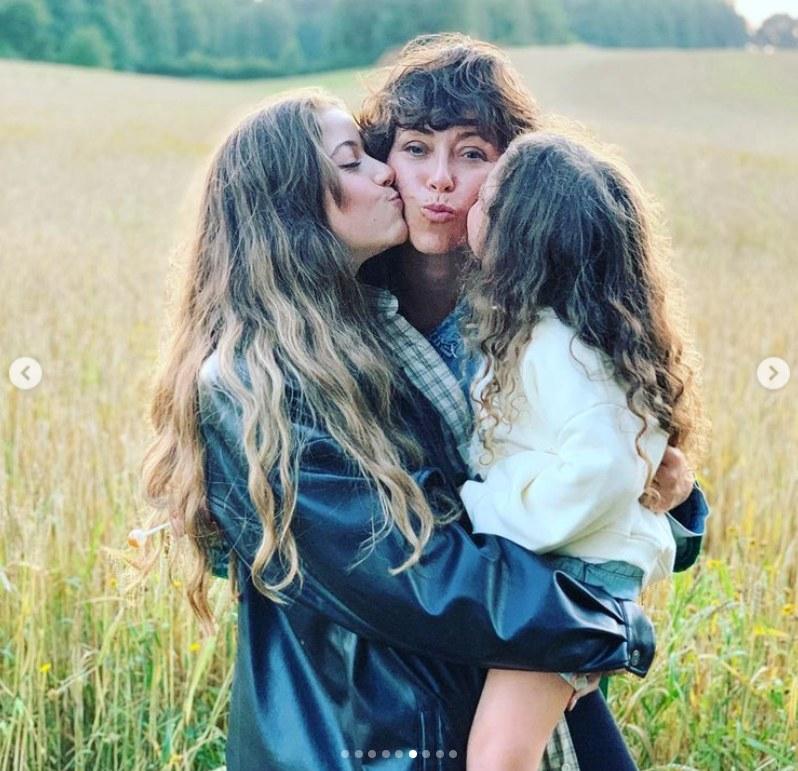 Natalia Kukulska z córkami /Instagram /materiał zewnętrzny