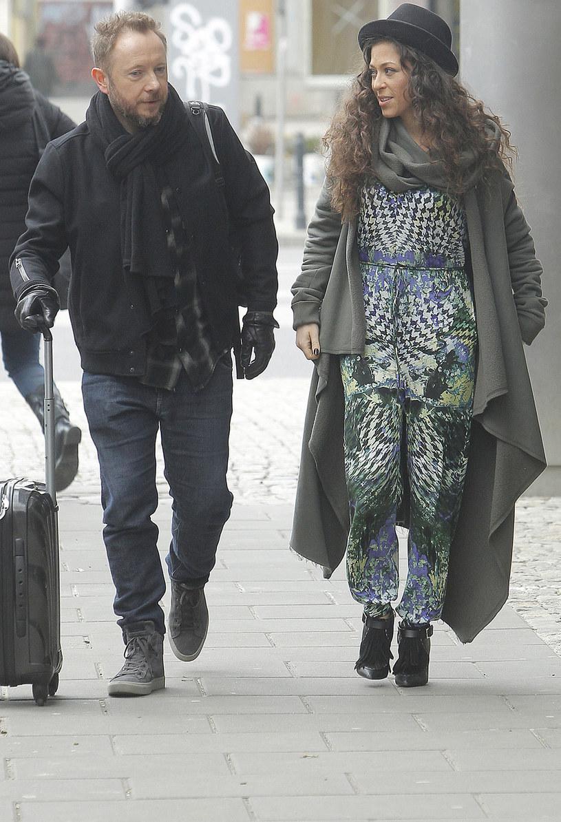 Natalia Kukulska z mężem Michałem Dąbrówką /Krzemiński Jordan /AKPA