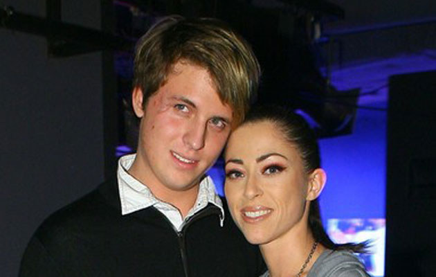 Natalia Kukulska z przyrodnim bratem Piotrem /Piotr Fotek/REPORTER /East News