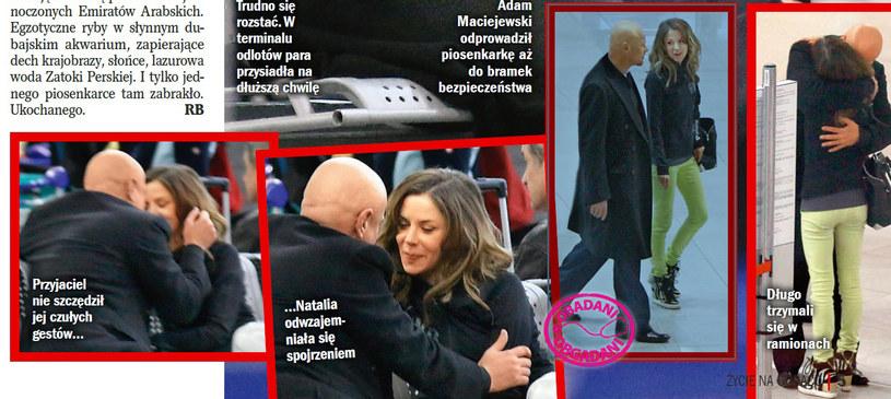 Natalia Lesz i Adam Maciejewski /Życie na gorąco