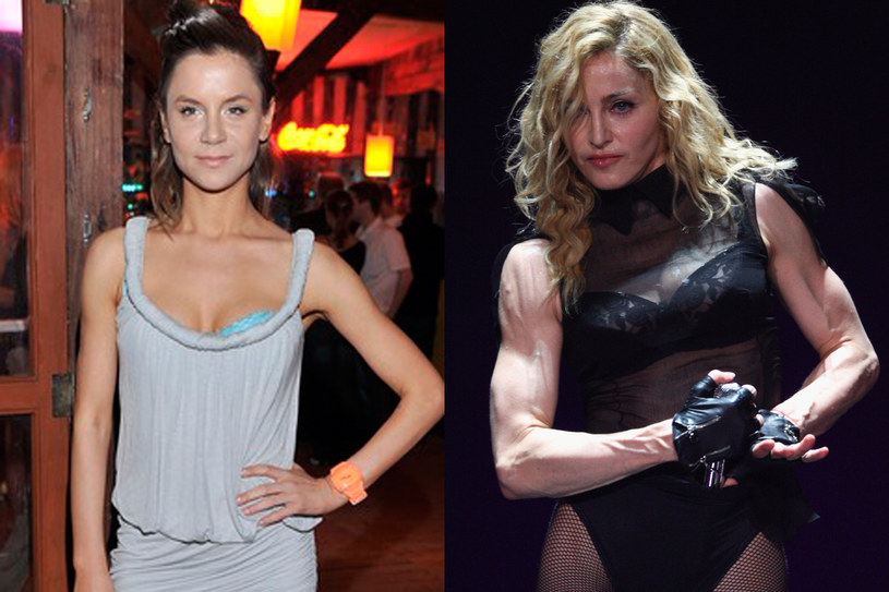 Natalia Lesz i Madonna, fot. AKPA i Getty Images  /