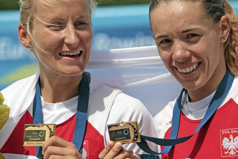 Natalia Madaj (z lewej) i Magdalena Fularczyk-Kozłowska /Piotr Skórnicki /