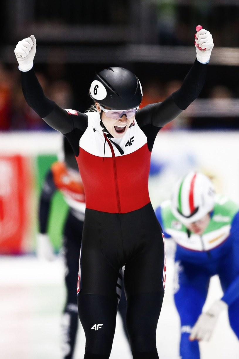 Natalia Maliszewska może cieszyć się ze zdobycia trofeum /AFP