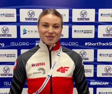 Natalia Maliszewska wygrała zawody PŚ w short tracku na dystansie 500 metrów. WIDEO