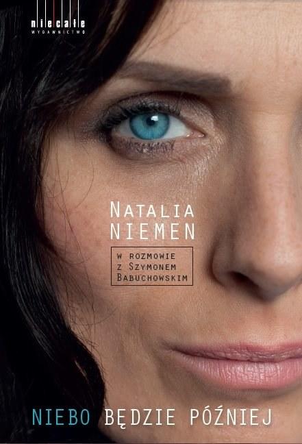 """Natalia Niemen na okładce książki """"Niebo będzie później"""" /materiały promocyjne"""