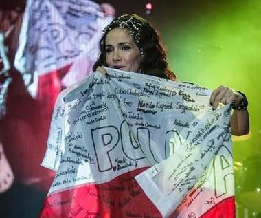 """Natalia Oreiro. """"Zbuntowany anioł"""" we Wrocławiu - 14 grudnia 2013 r."""