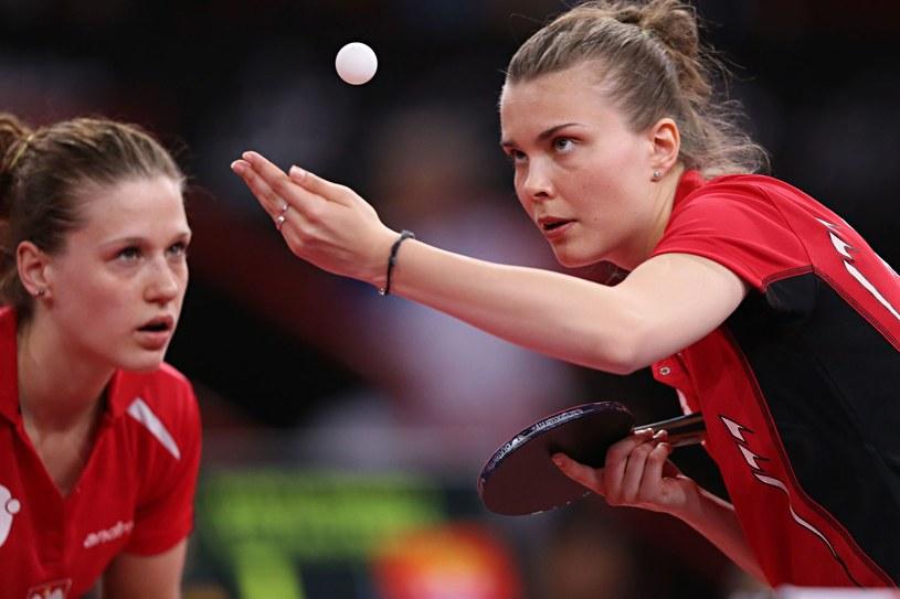 Natalia Partyka i Katarzyna Grzybowska-Franc /AFP