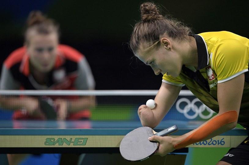 Natalia Partyka wystąpiła w Rio dwukrotnie. Na paraolimpiadzie udało jej się wywalczyć złoty medal /AFP