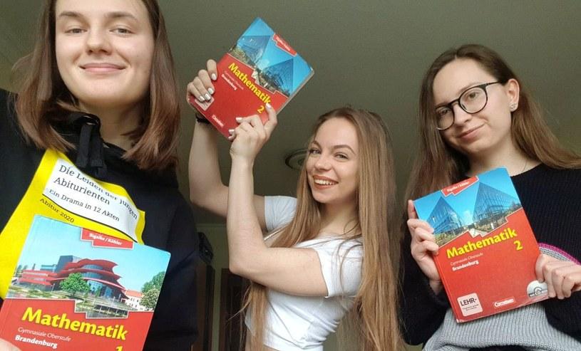 Natalia (pierwsza z lewej) mieszka w Polsce, ale uczy się w Niemczech. Fot. Agnieszka Hreczuk /Deutsche Welle