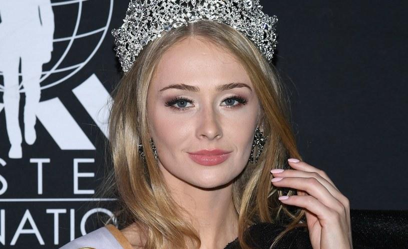 Natalia Piguła podczas konkursu na Miss Polski 2019 /Mateusz Jagielski /East News