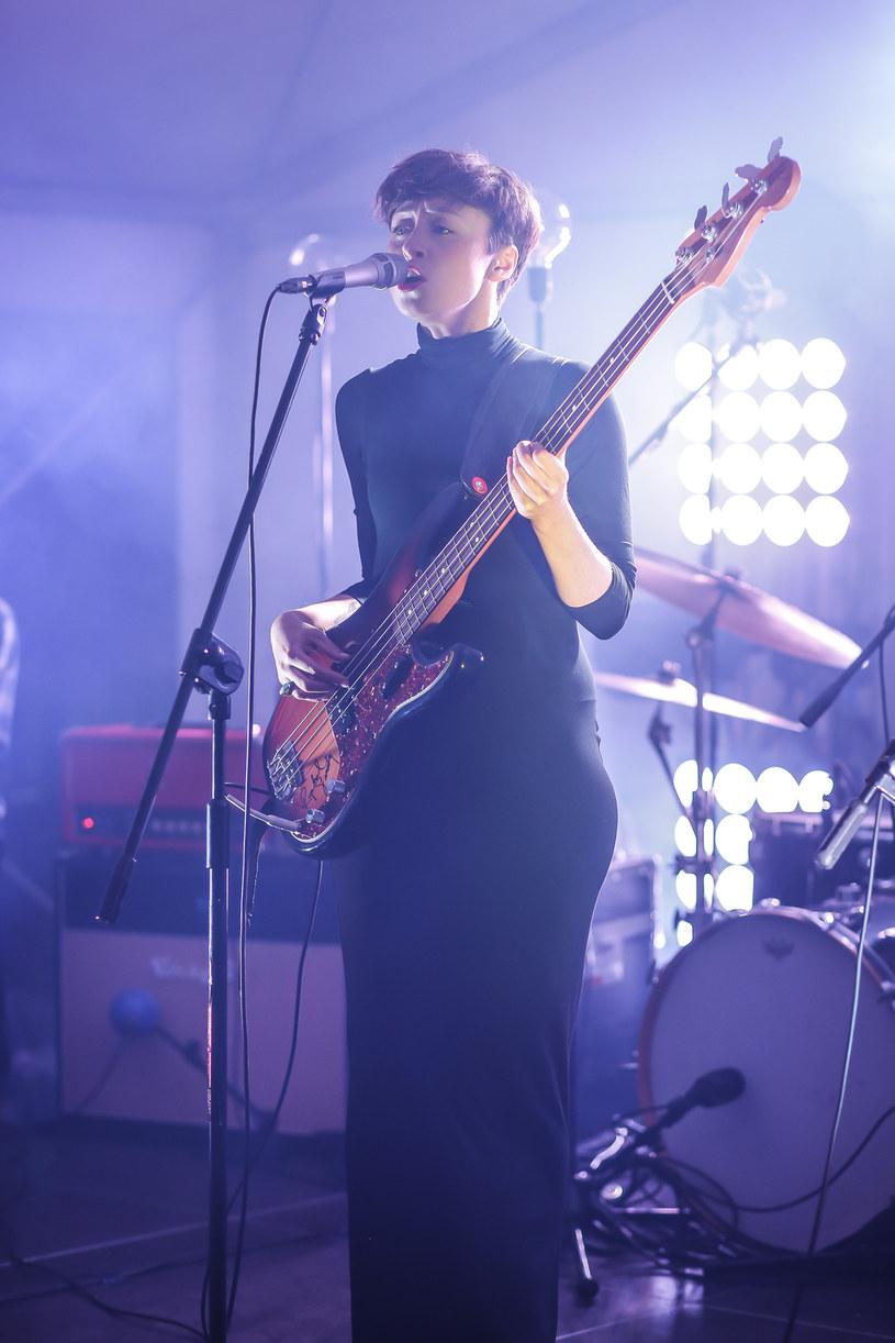 Natalia Przybysz podczas jednego z koncertów /Michał Baranowski /AKPA