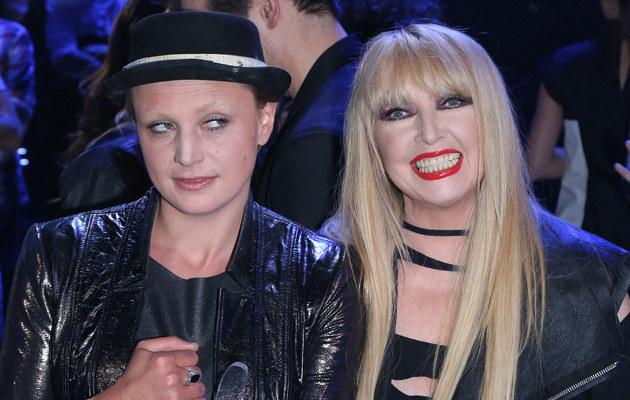 """Natalia Sikora i Maryla Rodowicz w finale """"The Voice..."""" /MWMedia"""