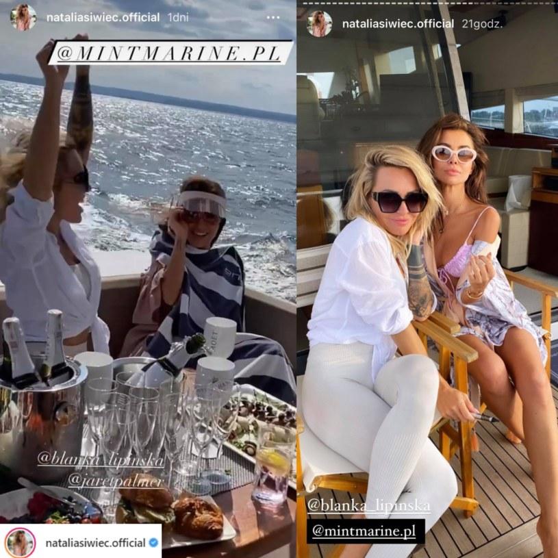 Natalia Siwiec, ku uciesze fanów, zrelacjonowała imprezę na swoim InstaStory /Instagram / @nataliasiwiec.official /Instagram