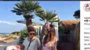 Natalia Siwiec na wakacjach