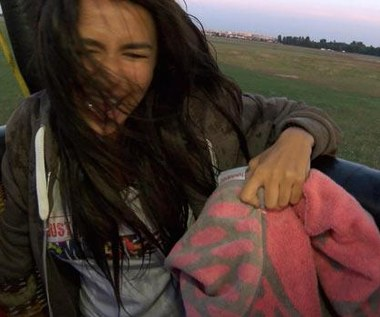Natalia Siwiec: Splashowy lot balonem