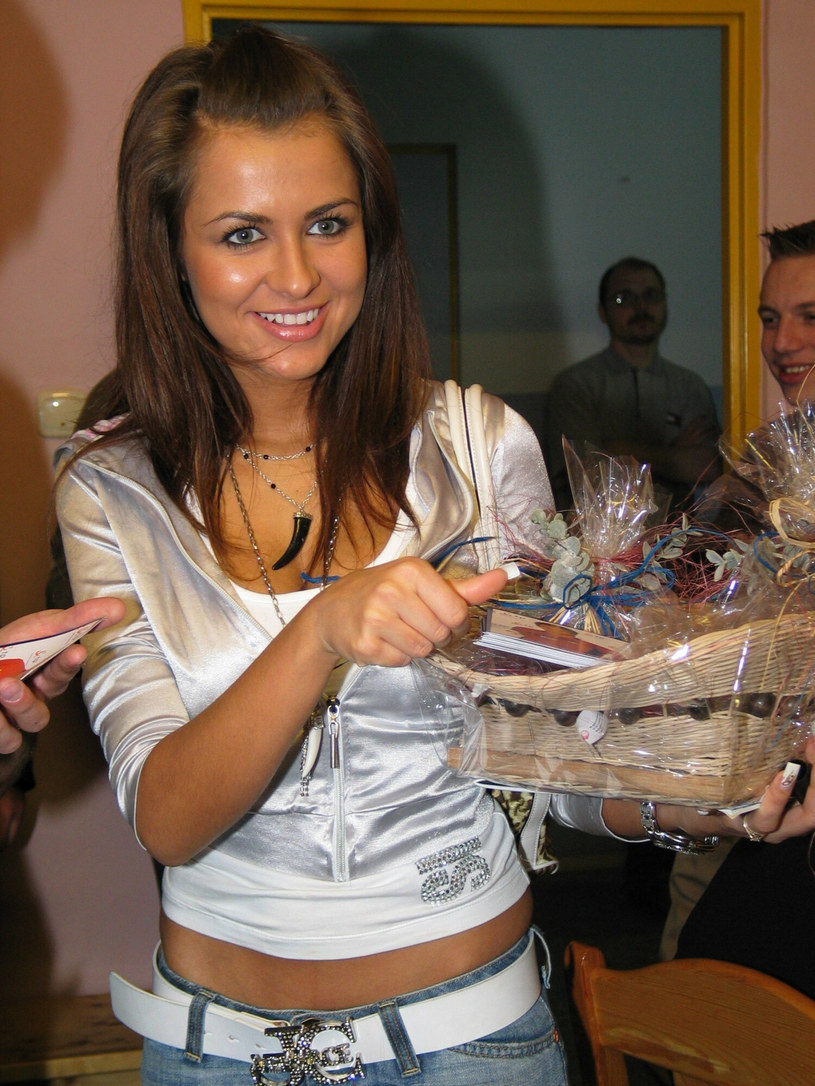 Natalia Siwiec w 2006 roku /Adrian Slazok/REPORTER /East News