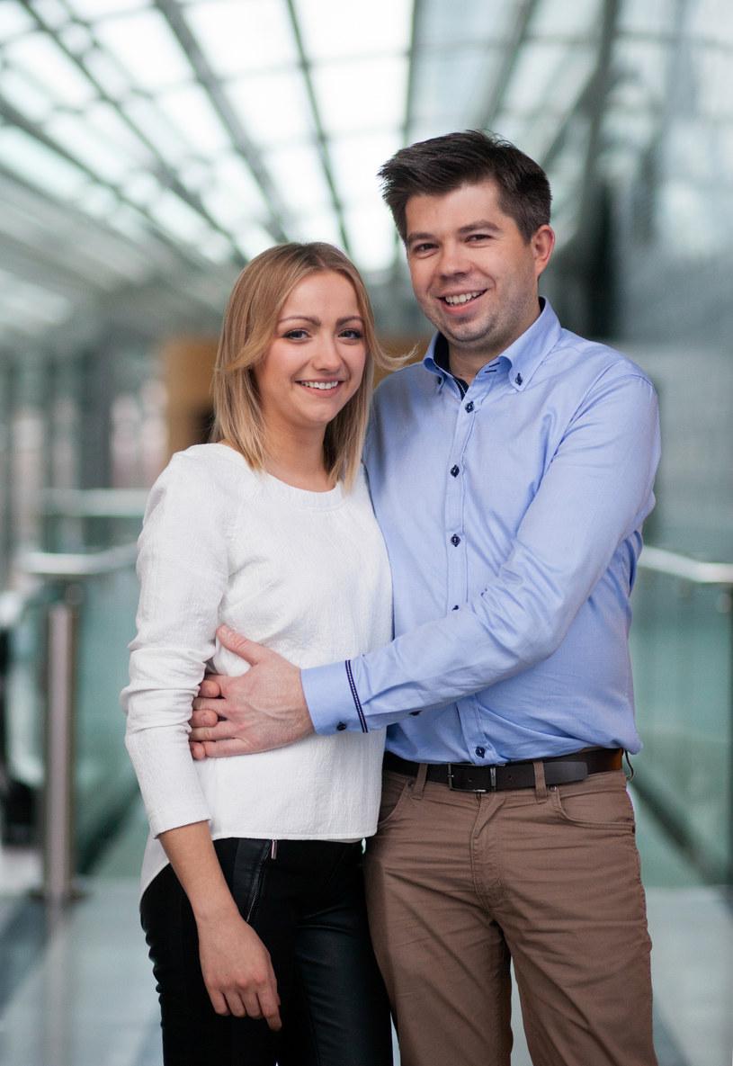 Natalia Wodzinowska i Paweł Szakiewicz /Agencja FORUM