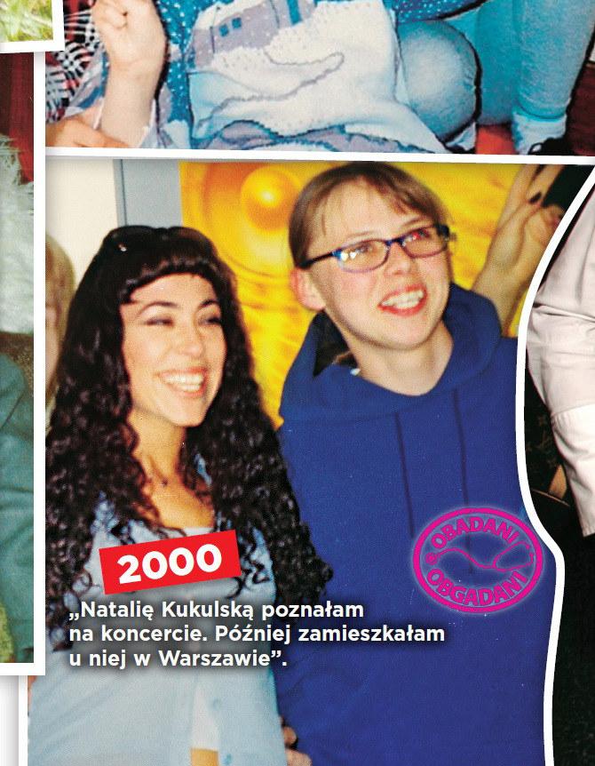 Natalia z nianią w 2000 r. /- /Show