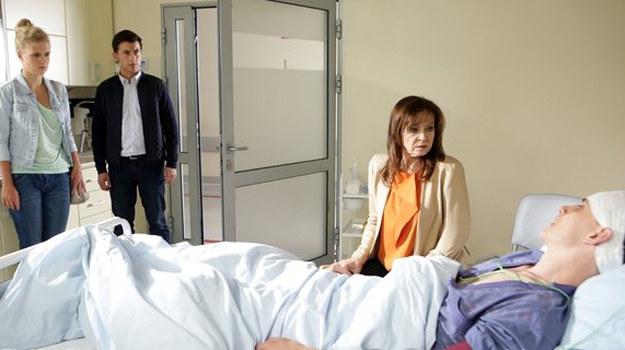 Natalia z ojcem pojawią się u Darka w szpitalu /www.mjakmilosc.tvp.pl/