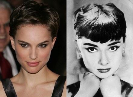 Natalie Portman i  Audrey Hepburn Fot. Getty Images, Bauer /INTERIA.PL