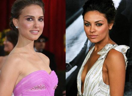 Natalie Portman i Mila Kunis: A wyglądają tak grzecznie /AFP